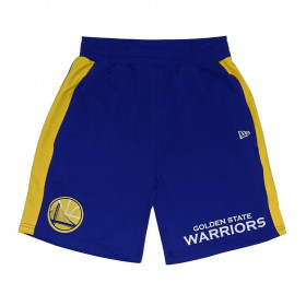 11841345_Short NBA Golden State Warriors New Era Wordmark Bleu pour homme