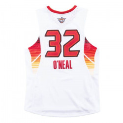 Maillot NBA Shaquille O'Neal All Star West 2009 Mitchell & ness Hardwood Classic swingman blanc