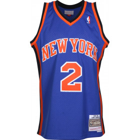 Maillot NBA Larry Johnson New York Knicks 1998-99 Mitchell & ness swingman Hardwood Classics bleu