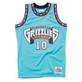 Maillot NBA swingman Mike Bibby Memphis Grizzlies 1998-99 Hardwood Classics Mitchell & ness vert