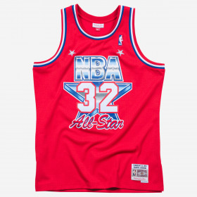 Maillot NBA swingman Magic Johnson All Star 1991 Hardwood Classics Mitchell & ness rouge