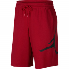 AQ3115-687_Short en cotton Jordan Jumpman Air Fleece rouge pour homme