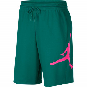 AQ3115-340_Short en cotton Jordan Jumpman Air Fleece vert PK pour homme