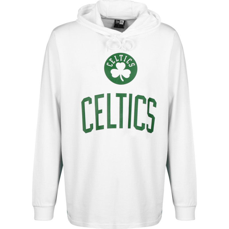 11935260_Sweat à Capuche NBA Boston Celtics New Era Contrast Panel Hoody blanc pour Homme