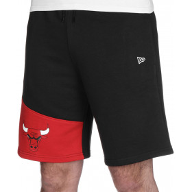 11935264_Short NBA Chicago Bulls New Era Colour Block Noir pour homme