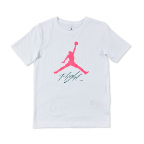 956109-001_T-shirt Jordan Jumpman Flight Blanc pour Enfant