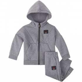 655991-GEH_Sweat à capuche zippé et pantalon pour enfant Jordan Jumpman Flight gris