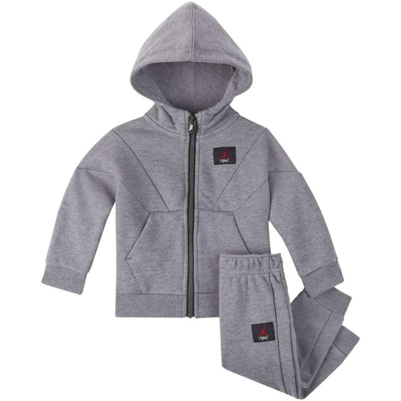 dc155ac448 655991-GEH_Sweat à capuche zippé et pantalon pour enfant Jordan Jumpman  Flight gris