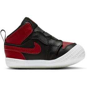 sports shoes 9c1e3 189fe AT3745-023 Chaussons Jordan Crib Bootie (TD) Noir pour bébé