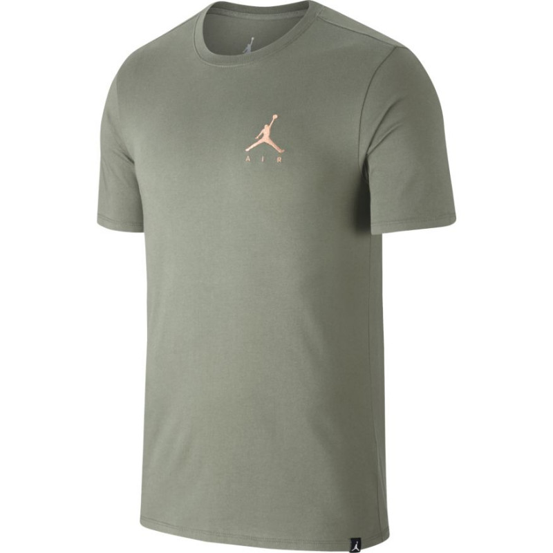 AH5296-334_T-Shirt Jordan Sportswear Jumpman Air Embroidered Vert pour Homme
