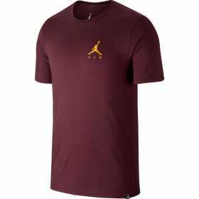 AH5296-681_T-Shirt Jordan Sportswear Jumpman Air Embroidered Marron pour Homme