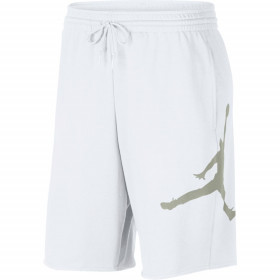 AQ3115-101_Short en cotton Jordan Jumpman Air Fleece blanc pour homme