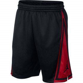 AJ1120-010_Short de basketball Jordan Franchise Noir red pour Homme