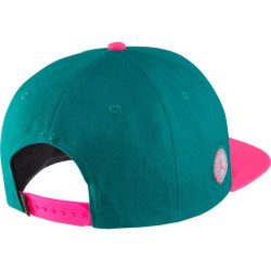 Casquette Jordan Pro Script Snapback vert Pink