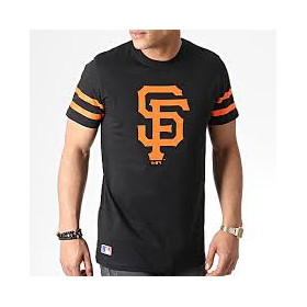 T-Shirt MLB San Franscico Giants New Era Team Logo Noir pour Homme /// 11935266