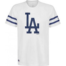 T-Shirt MLB Los Angeles Dodgers New Era Team Logo Blanc pour Homme /// 11935268