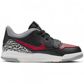CD9055-006_Chaussures de Basket Air Jordan Legacy 312 low Noir pour enfant