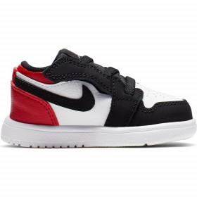 CI3436-116_Chaussure Jordan 1 Low ATL (TD) Noir infrared pour bébé