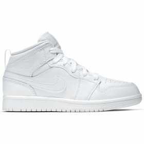 Chaussure Jordan 1 Mid (Ps) Blanc pour enfant