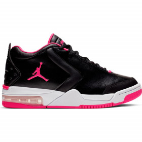 reputable site 7129d 3e51a BV7375-061 Chaussures Jordan Big Fund (GS) Noir rose pour junior
