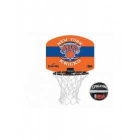 Mini Canasta de baloncesto Spalding NBA New York Knicks naranja