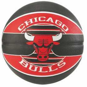 Ballon de Basketball exterieur Spalding NBA Chicago Bulls Noir