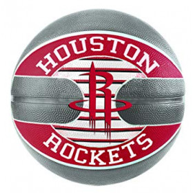 83-589Z_Ballon de Basketball exterieur Spalding NBA Houston Rockets Rouge