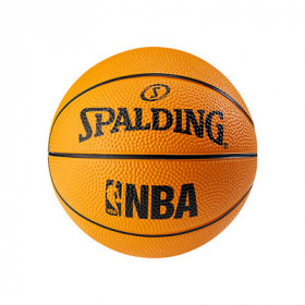 Mini Ballon NBA Spalding orange taille 1