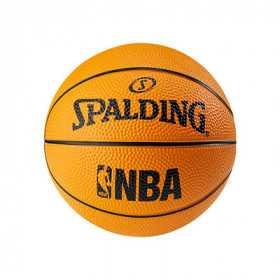 Mini pelota NBA Spalding naranja tailla 1