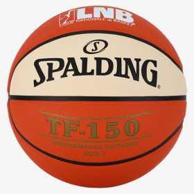 Ballon de Basketball Exterieur Spalding LNB TF-150