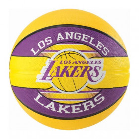 83-585Z_Ballon de Basketball exterieur Spalding NBA Los Angeles Lakers