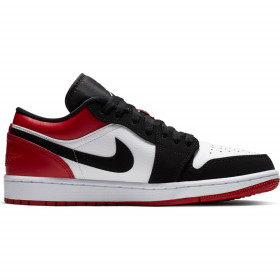 "553558-116_Chaussure Air Jordan 1 Low ""Rouge White"" pour homme"