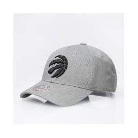 Casquette NBA Toronto Raptors Mitchell & ness Snapback Team Logo Low Grise /// INTL154