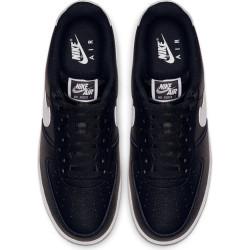 Chaussure Nike Air Force 1 Pour Homme NoirBlanc semelle Gum
