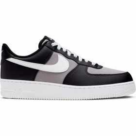 Chaussure Nike Air Force 1 '07 Pour Homme Noir/Gris
