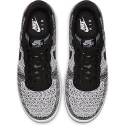 Chaussure AIR FORCE 1 FLYKNIT 2.0 Pour Homme Noir/Blanc