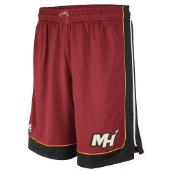 Adidas NBA swigman short Heat rouge
