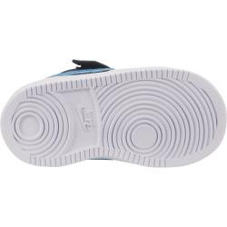 Chaussure Nike Court Borough Low EP pour Bébé Noir