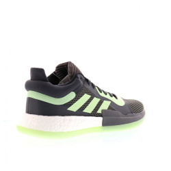 Chaussure de Basketball adidas Marquee Boost Low GrisVert pour Homme