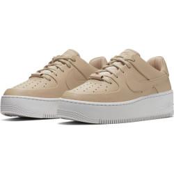 meilleure sélection ba6f1 6f247 Chaussure Nike Air Force 1 Sage Low 2 Pour Femme Beige