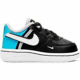 CI1758-001_Chaussure Nike Force 1 LV8 2 (TD) Noir pour bébé