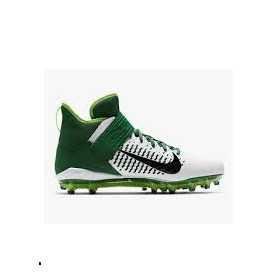 Crampons de Football Americain moulés Nike Alpha Pro Mid 2 Vert Pour Hommes //// AQ3209-106