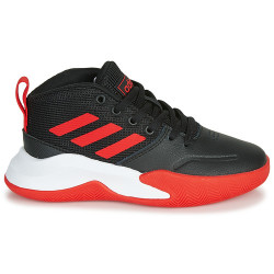 Chaussure de Basketball adidas Ownthegame K Wide Noir red Pour Junior