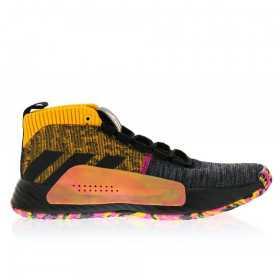 "EF9367_Chaussure de Basketball adidas Dame 5 ""Summer Tour"" Noir gold pour homme"
