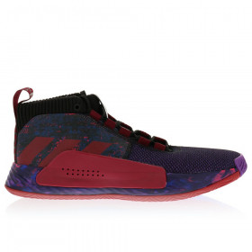 """G26134_Chaussure de Basketball adidas Dame 5 """"Earn Your Stripes"""" Violet pour homme"""