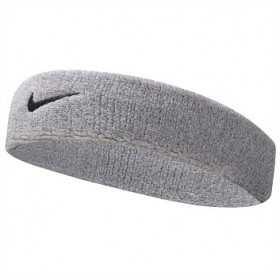 NNN07051OS //// Bandeau de tête Nike Swoosh Gris