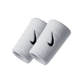 Poignets éponge Nike Doublwide Blanc ////