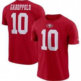 EZ1B7FBNU-49RJG_T-Shirt NFL Garopolo Jimmy San Francisco 49ers Nike Pride rouge pour Junior