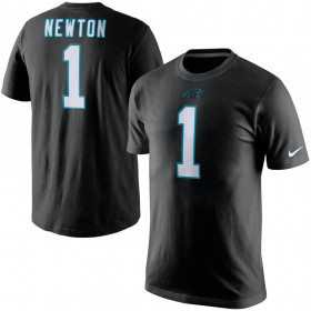 EZ1B7FBNU-CPACN_T-Shirt NFL Cam Newton Carolina Panthers Nike Pride Noir pour Junior
