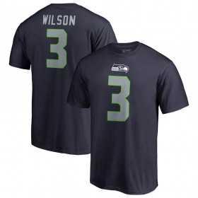 EZ1B7FBNU-SEAUW_T-Shirt NFL Russell Wilson Seattle Seahawks Nike Pride Bleu marine pour Junior